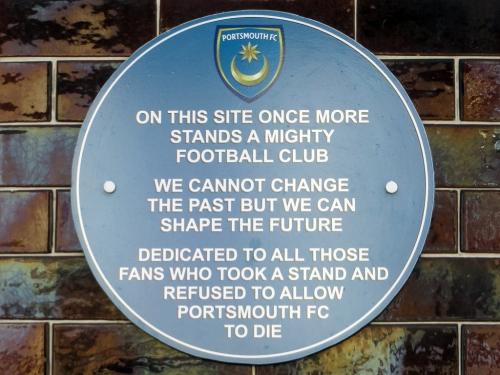 portsmouth plaque